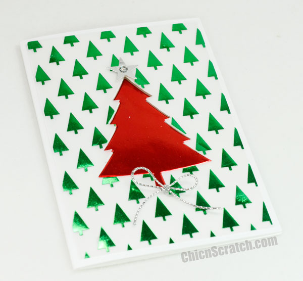Christmas-Tree-Foil-Card
