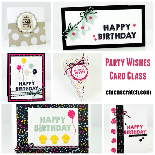 Party Wishes Card Class