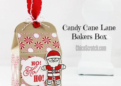 Candy Cane Lane Bakers Box
