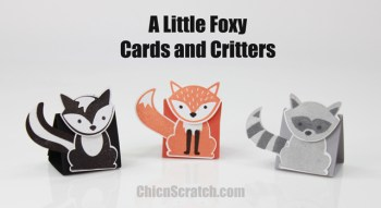 Cards and Critters Punch Animals