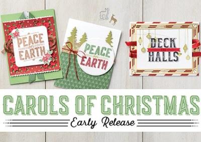 Carols of Christmas + Holiday Catalog 2017
