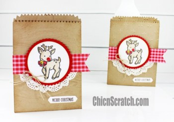 Seasonal Chums Mini Treat Bag