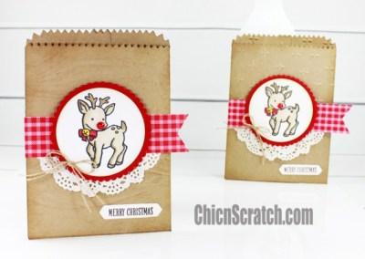 Seasonal Chums Mini Treat Bag