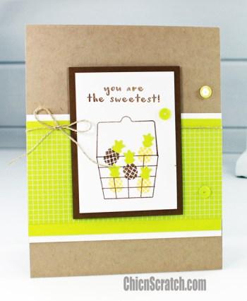 Fruit Basket Card