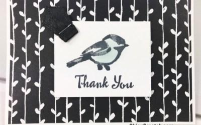 Petal Palette Thank You Notecard
