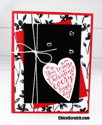 Petal Passion Valentines Card