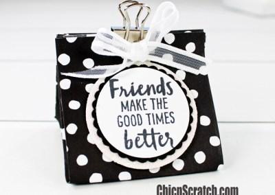 Petal Passion Binder Clip Bag