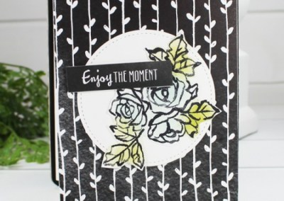 Petal Passion Rectangle Coaster Mini Album