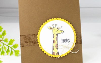 Animal Outing Thank You Card