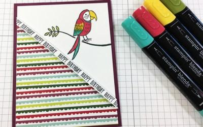 Bird Banter Birthday Card
