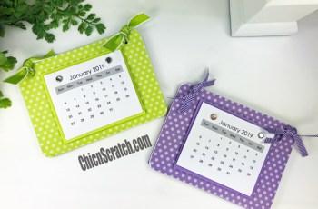 2019 Coaster Calendar