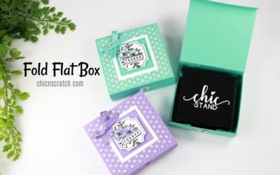 Fold Flat Box