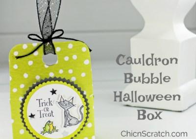 Cauldron Bubble Halloween Box