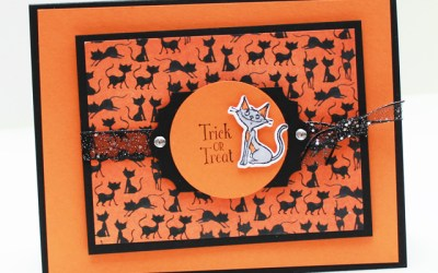 Card 2 – Cauldron Bubble Stamp Kit of the Month