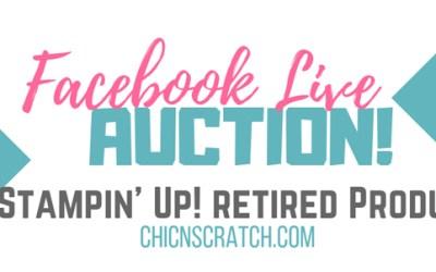Facebook Live Auction Sunday 9/30