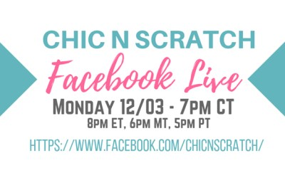 Chic n Scratch Live on Facebook