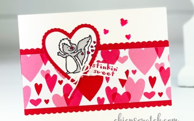 Stinkin Sweet Valentines Card