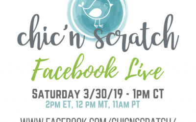 Facebook Live Saturday March 30th