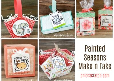 Painted Seasons Make n Take Class Packet