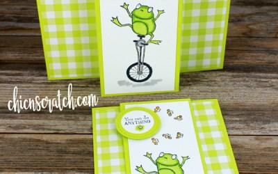 So Hoppy Together Fun Fold Card