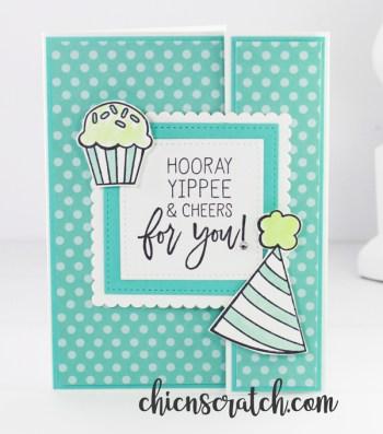 Birthday Cheer Fun Fold Card