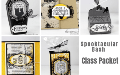 Spooktacular Bash Class Packet