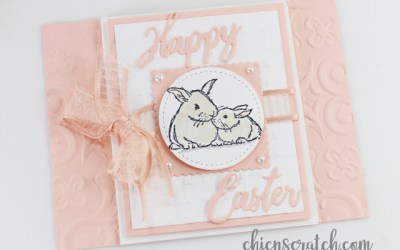 Wildly Happy Fun Fold Easter Card