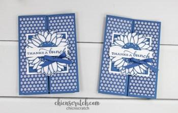 Celebrating Sunflowers Fun Fold Card