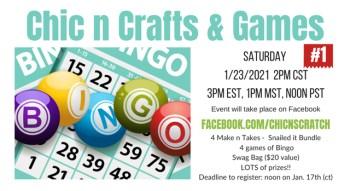 Chic n Crafts & Games #1