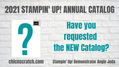 Ordering Stampin' Up! Catalogs tomorrow