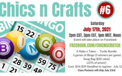 Chics n Crafts Bingo #6