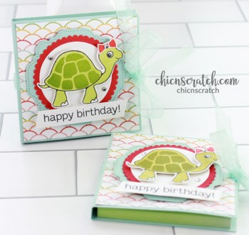 Turtle Friends Post It Note Holder
