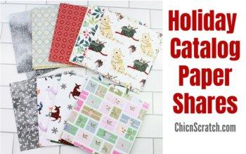 Holiday Catalog Paper Shares