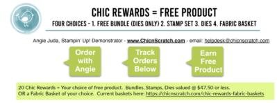New Chic Rewards Choices