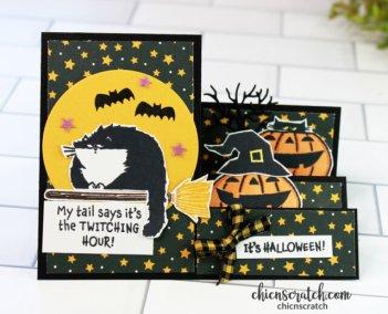 Halloween Stair Step Card