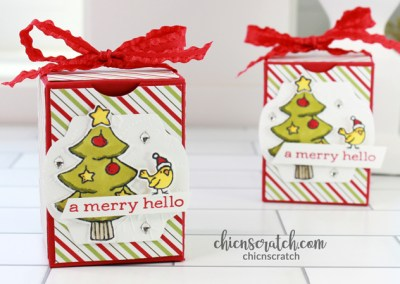 Holiday Box Template 63