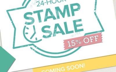 One Day Stamp Sale – Wednesday