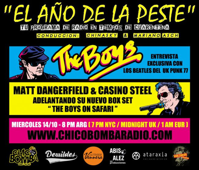 EL AÑO DE LA PESTE. PROGRAMA 82- ESPECIAL THE BOYS- ENTREVISTA EXCLUSIVA CON MATT DANGERFIELD Y CASSINO STEEL.