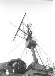 Mastro do navio de guerra alemão Bismarck, 1940-1941