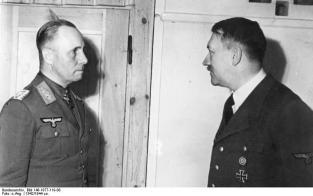 Erwin Rommel, Adolf Hitler