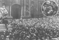 Hitler na declaração da Grande Guerra