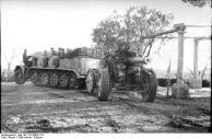 Italien, Zugkraftwagen mit schwerem Geschütz