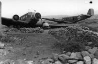 Kreta, Abgestürzte Ju 52
