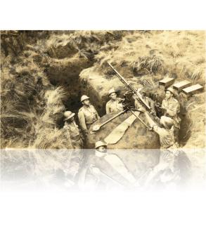 Bateria AntiAérea em Fernando de Noronha no período da Guerra