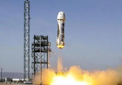 Blue Origin anuncia primeiro voo tripulado para julho e ainda há lugar