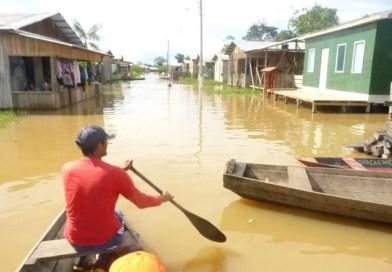 Chuvas deixam a Região Norte em estado de atenção