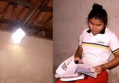 Radialista cria placa solar de 30 reais e leva luz a casa sem eletricidade