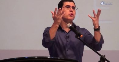 """Haroldo Dutra ministra palestra """"Um sentido para a vida"""" em Macapá"""