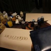 Italian fine leather craftsmanship by ARALDI 1930