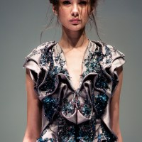 Sculptural Origami with Yiqing Yin at French Couture 2012 Fide Fashion Week 2012